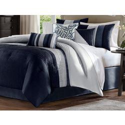 Madison Park Amherst Navy 7-pc. Comforter Set