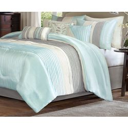 Madison Park Amherst Aqua 7-pc. Comforter Set