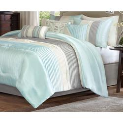 Amherst Aqua 7-pc. Comforter Set