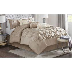 Madison Park Laurel Taupe 7-pc. Comforter Set