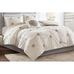 Malia 4-pc. Duvet Cover Set