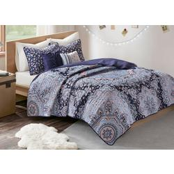 Odette Reversible Coverlet Set