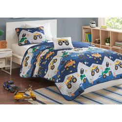 Mi Zone Kids Nash Reversible Coverlet Set