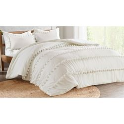 Madison Park Leona Pom Pom Comforter Set