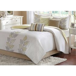 Madison Park Caelie Yellow 6-pc. Coverlet Set