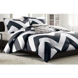 Mi Zone Libra Black & White Comforter Set