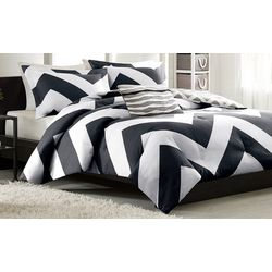 Mi Zone Libra Black & White Comforter Set