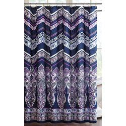 Intelligent Design Adley Printed Shower Curtain