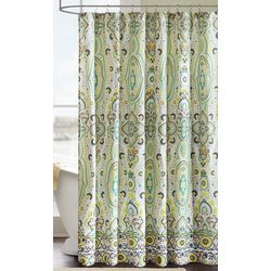 Intelligent Design Tasia Printed Shower Curtain