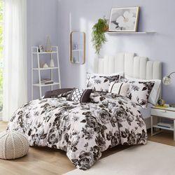 Intelligent Design Dorsey Floral Print Comforter Set