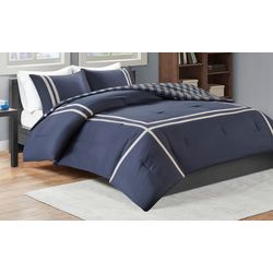 Intelligent Design Oxford Reversible Comforter Set