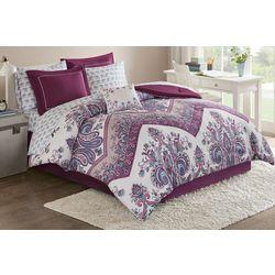 Intelligent Design Tulay Purple Comforter & Sheet Set
