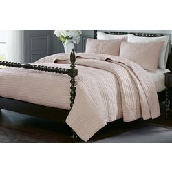 Madison Park Signature Serene Hand Quilted Coverlet Set