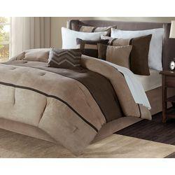 Madison Park Palisades Brown 7-pc. Comforter Set
