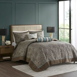 Madison Park Aubrey 5-pc. Bedspread Set