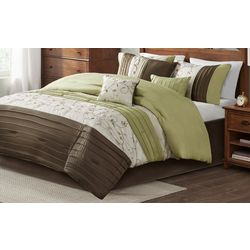 Madison Park Serene Green 7-pc. Comforter Set