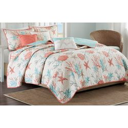 Madison Park Pebble Beach 6-pc. Coverlet Set