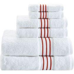 Madison Park Signature 6-pc. Elloy Towel Set
