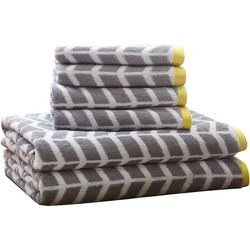 Intelligent Design Nadia 6-pc. Towel Set