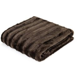 Madison Park Duke Long Fur Throw