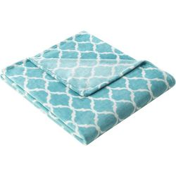 Madison Park Ogee Microlight Throw
