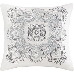 Echo Design Larissa Embroidered Square Pillow