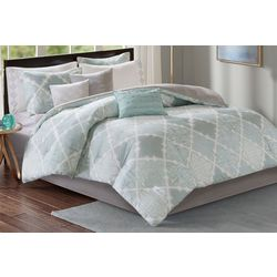 Madison Park Cadence 9-pc. Sateen Comforter Set
