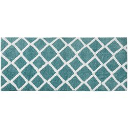 Madison Park Bittman Reversible Tufted Microfiber Bath Rug