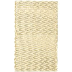 Madison Park Lasso Yarn Dyed Chenille Chain Stitch Rug