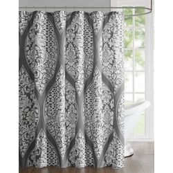 510 Design Jaclin Printed Shower Curtain
