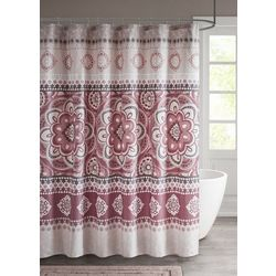 510 Design Neda Printed Shower Curtain