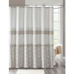 510 Design Ramsey Printed & Embroidered Shower Curtain