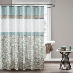 510 Design Shawnee Printed & Embroidered Shower Curtain