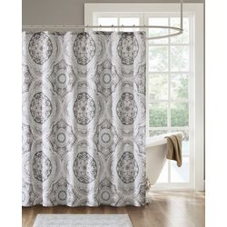 Madison Park June Printed Shower Curtain