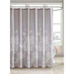Madison Park Marian Printed Shower Curtain
