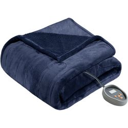 Beautyrest Heated Microlight to Berber Electric Blanket