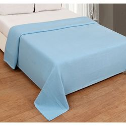 Hotel Luxury Collection Super Soft Solid Cotton Blanket