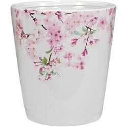 Creative Bath Cherry Blossoms Wastebasket