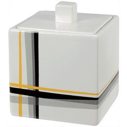 Creative Bath Modern Plaid Jar