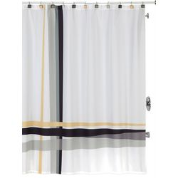 Creative Bath Modern Plaid Shower Curtain