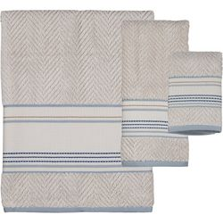 Creative Bath Ticking Stripe Towel Collection