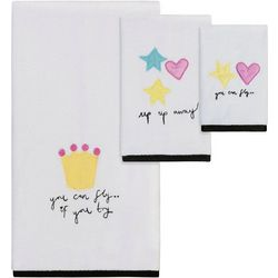 Creative Bath Faerie Princess Towel Collection
