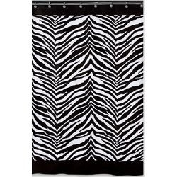 Creative Bath Zebra Shower Curtain