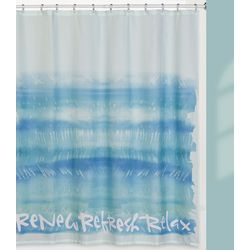 Creative Bath Splash Shower Curtain