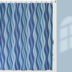 Creative Bath Wavelength Shower Curtain