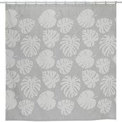 Creative Bath Tropical Leaves Shower Curtain