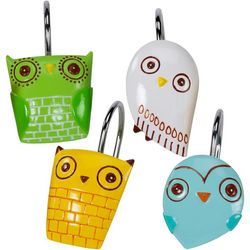 Give A Hoot 12-pc. Shower Curtain Hooks
