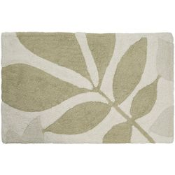 Creative Bath Shadow Leaves Rug