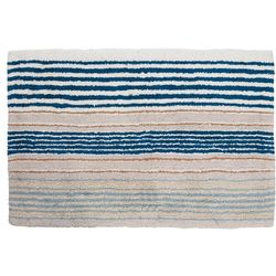 Creative Bath Ticking Stripe Rug