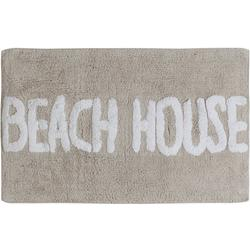 Driftwood Beach House Bath Rug